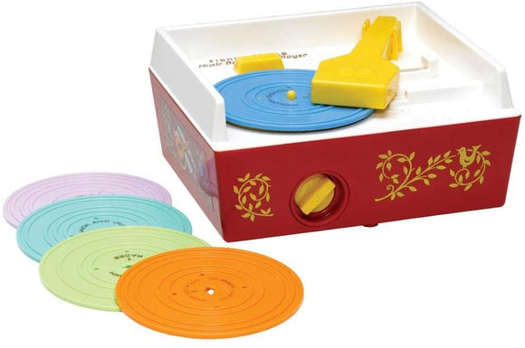 Fisher Price Classic Toys - Music Box Record Player - McGreevy's Toys Direct