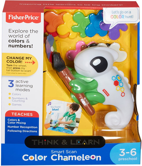 Fisher Price Smart Scan Colour Chameleon - McGreevy's Toys Direct