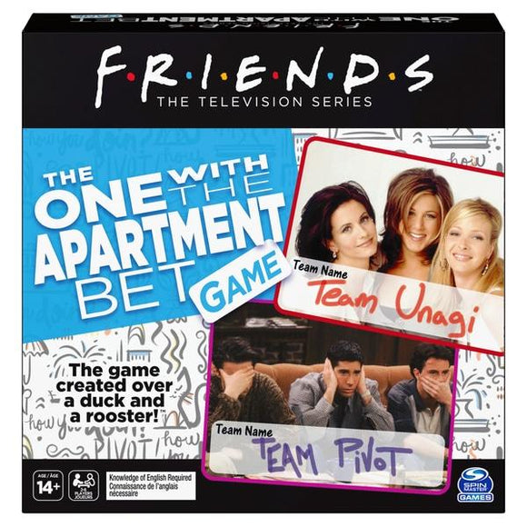 Friends: The One with the Apartment Bet Game - McGreevy's Toys Direct