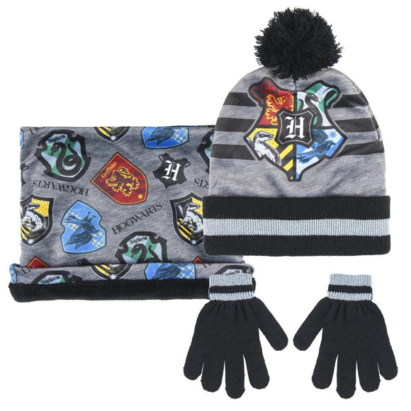 Harry Potter 3 Piece Set - Hat, Gloves & Snood - McGreevy's Toys Direct