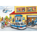 Helicopter 60 Piece Puzzle with Siku Model - McGreevy's Toys Direct