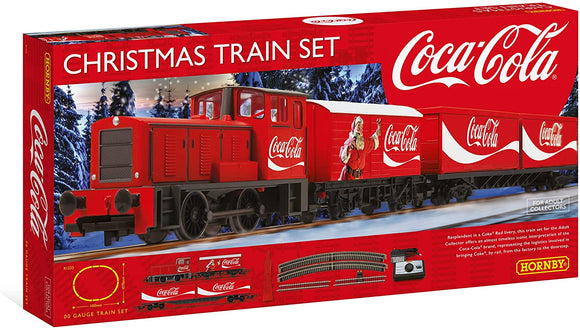 Hornby R1233 Coca Cola Christmas Train - McGreevy's Toys Direct