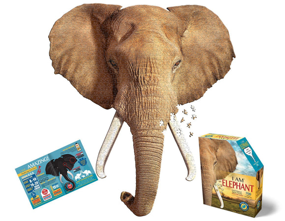 I Am Elephant Jigsaw Puzzle - 700 Pieces - McGreevy's Toys Direct