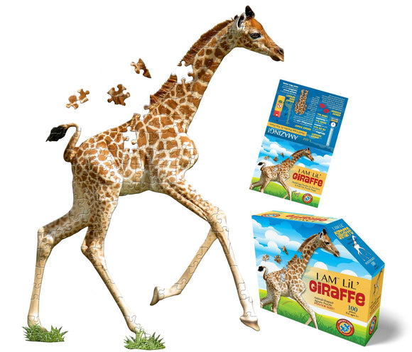 I Am Lil' Giraffe Jigsaw Puzzle - 100 Pieces - McGreevy's Toys Direct