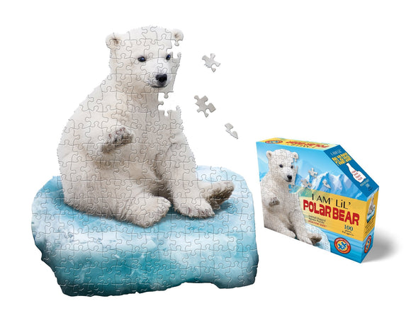 I Am Lil' Polar Bear Jigsaw Puzzle - 100 Pieces - McGreevy's Toys Direct