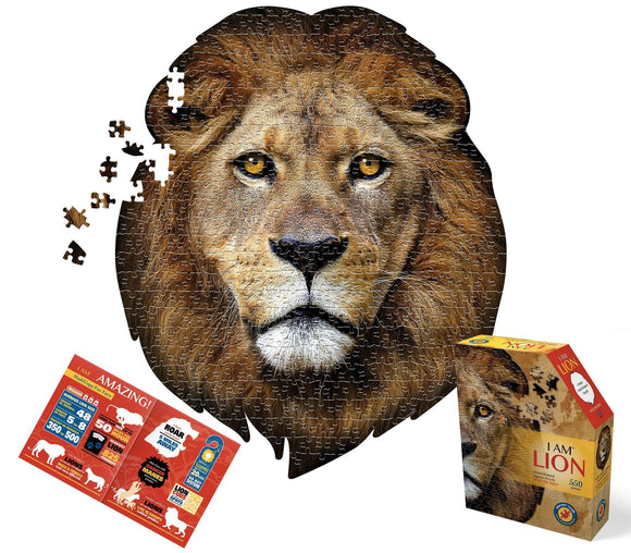I Am Lion Jigsaw Puzzle - 550 Pieces - McGreevy's Toys Direct