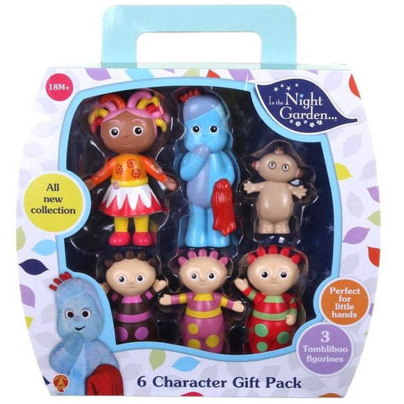 In the Night Garden 6 Character Gift Pack - McGreevy's Toys Direct