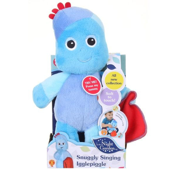 In the Night Garden Snuggly Singing Iggle Piggle - McGreevy's Toys Direct