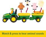 John Deere Animal Sounds Hayride - McGreevy's Toys Direct