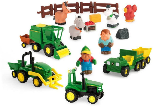 John Deere Fun on the Farm Playset - McGreevy's Toys Direct