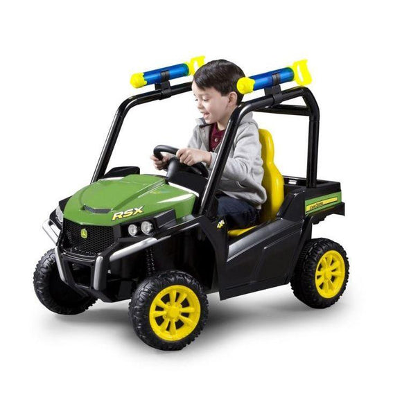 John Deere RSX 6v Ride-On Gator with Water Cannons - McGreevy's Toys Direct