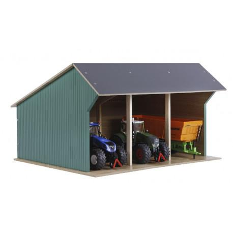 Kids Globe Farm Machinery Shed - McGreevy's Toys Direct