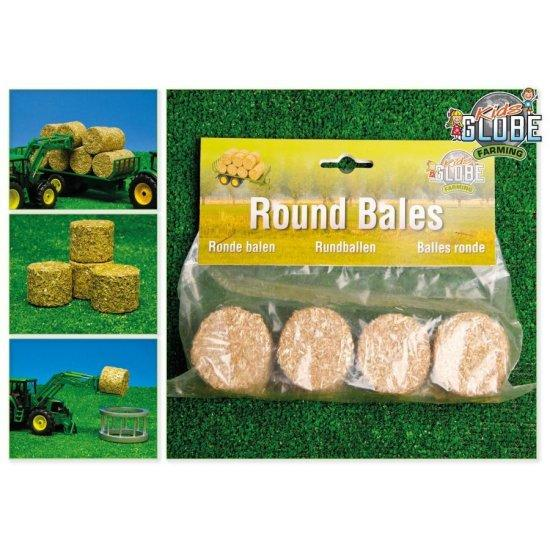 Kids Globe Round Bales 4 Pack - McGreevy's Toys Direct
