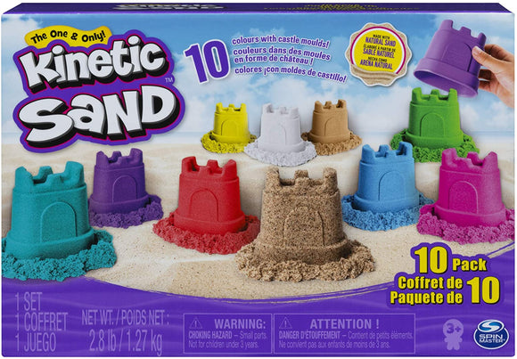 Kinetic Sand 10 pack - McGreevy's Toys Direct