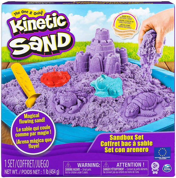 Kinetic Sand Sandbox Set - McGreevy's Toys Direct