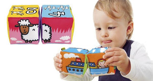 K's Kids Match and Sound Animals Blocks - McGreevy's Toys Direct