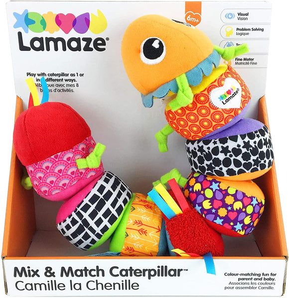Lamaze Mix & Match Caterpillar - McGreevy's Toys Direct
