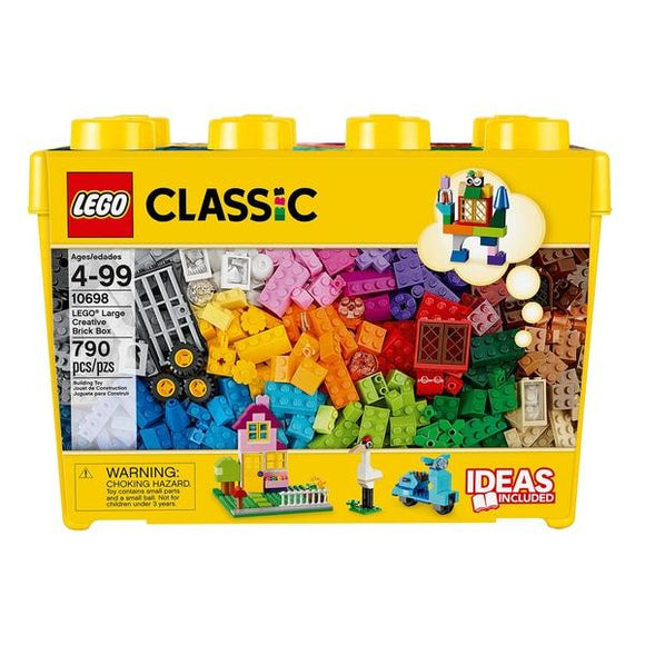 LEGO 10698 Classic Large Creative Brick Box - McGreevy's Toys Direct