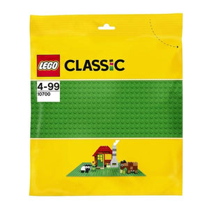 LEGO 10700 Classic Green Baseplate 25cm x 25cm - McGreevy's Toys Direct