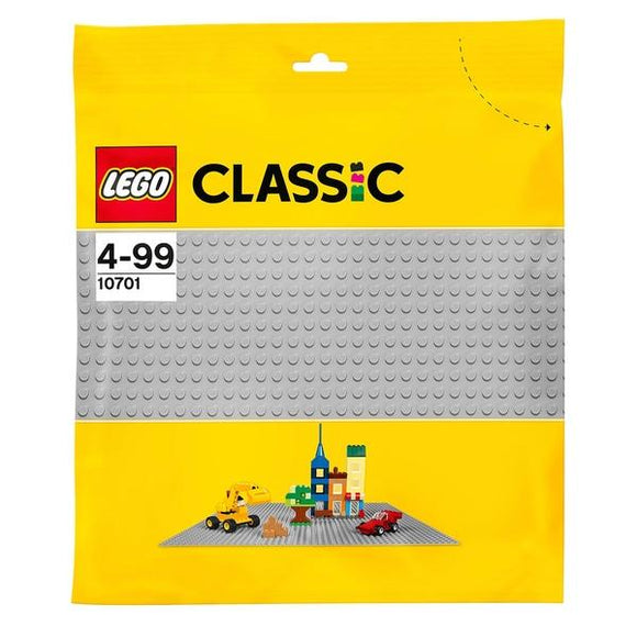 LEGO 10701 Classic Grey Baseplate - McGreevy's Toys Direct