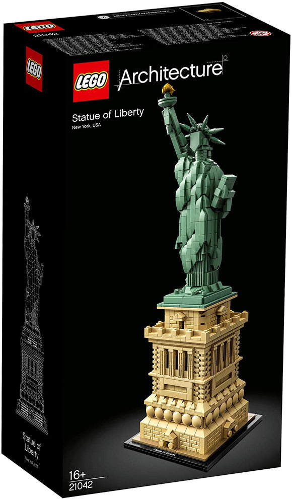 LEGO 21042 Architecture Statue of Liberty - McGreevy's Toys Direct
