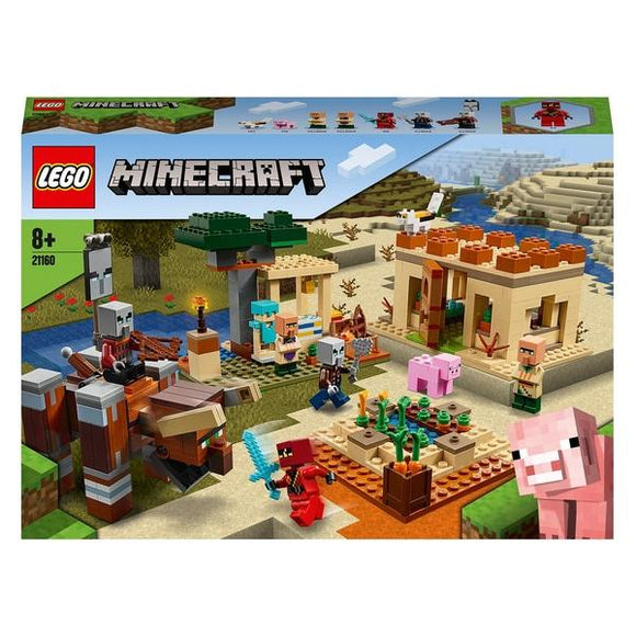 LEGO 21160 Minecraft The Illager Raid Building Set - McGreevy's Toys Direct