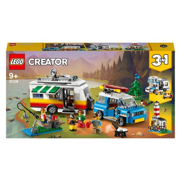 LEGO 31108 Creator 3in1 Caravan Family Holiday - McGreevy's Toys Direct