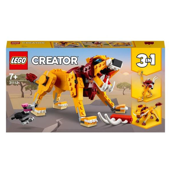 LEGO 31112 Creator Wild Lion - McGreevy's Toys Direct