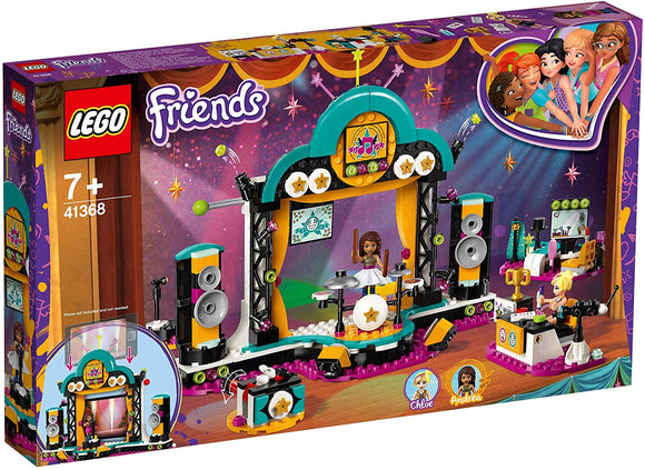 LEGO 41368 Friends Andrea's Talent Show - McGreevy's Toys Direct