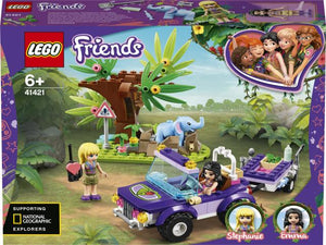 LEGO 41421 Friends Baby Elephant Jungle Rescue - McGreevy's Toys Direct