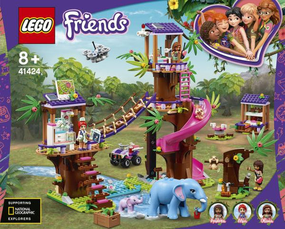 LEGO 41424 Friends Jungle Rescue Base - McGreevy's Toys Direct