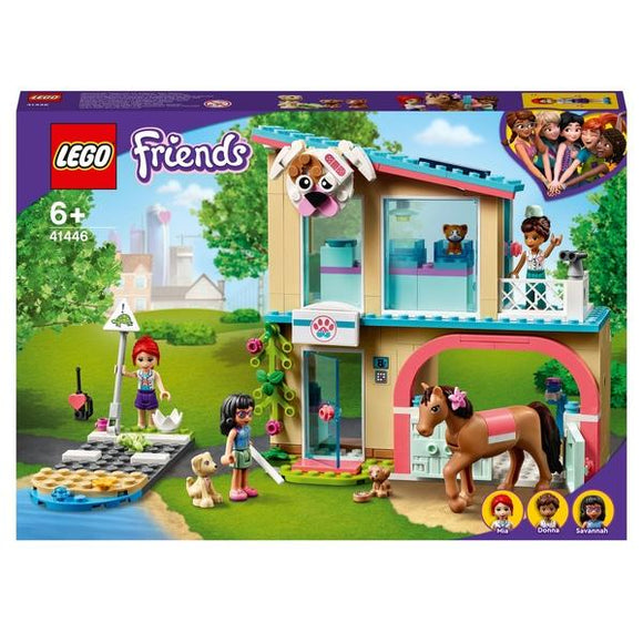 LEGO 41446 Friends Heartlake City Vet Clinic - McGreevy's Toys Direct