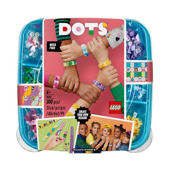 LEGO 41913 DOTS Bracelet Mega Pack - McGreevy's Toys Direct