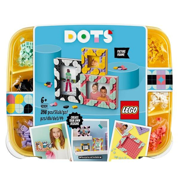 LEGO 41914 DOTS Creative Picture Frames - McGreevy's Toys Direct