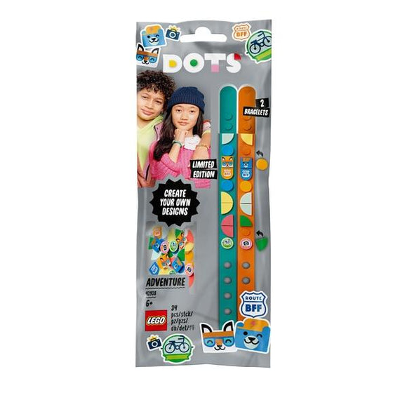 LEGO 41918 DOTS Adventure Bracelets - McGreevy's Toys Direct