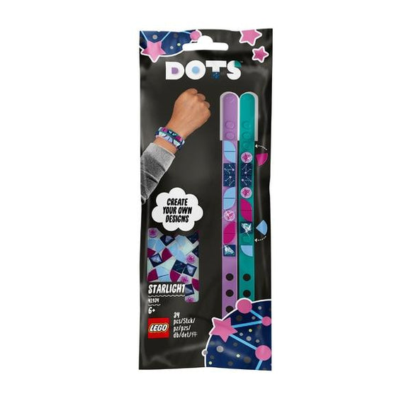 LEGO 41934 DOTS Starlight Bracelets - McGreevy's Toys Direct