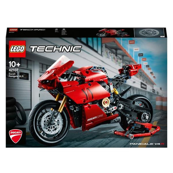 LEGO 42107 Technic Ducati Panigale V4 R - McGreevy's Toys Direct
