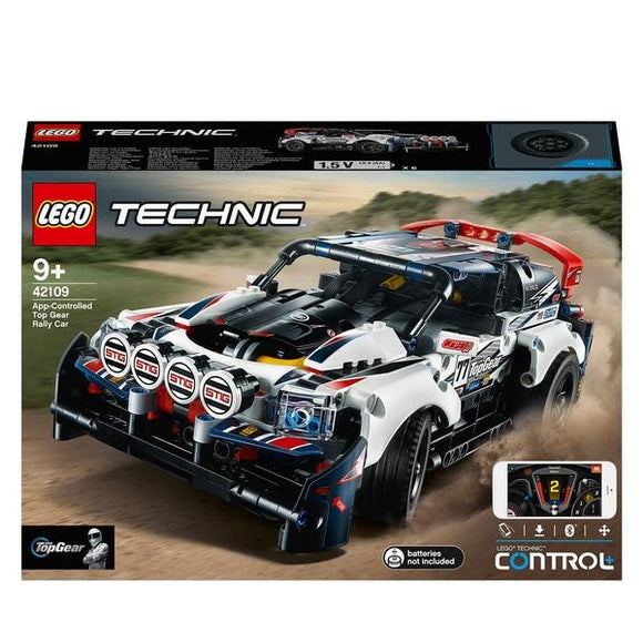 Lego 42109 Technic App-Controlled Top Gear Rally Car - McGreevy's Toys Direct