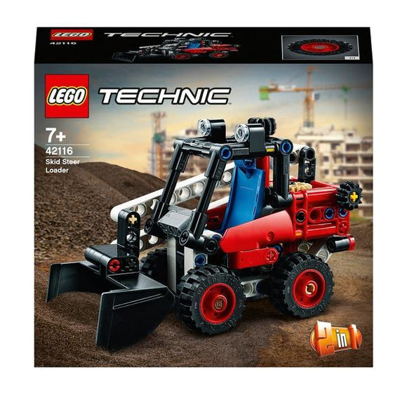 LEGO 42116 Technic Skid Steer Loader - McGreevy's Toys Direct