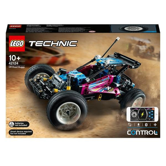 LEGO 42124 Technic Off-Road Buggy - McGreevy's Toys Direct