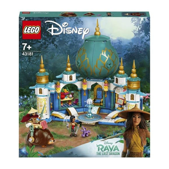 LEGO 43181 Disney Princess Raya and the Heart Palace - McGreevy's Toys Direct
