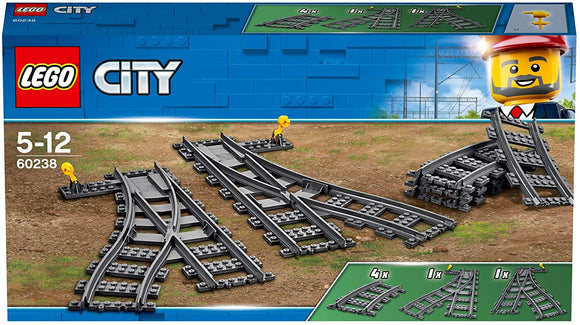 LEGO 60238 City Switch Tracks - McGreevy's Toys Direct