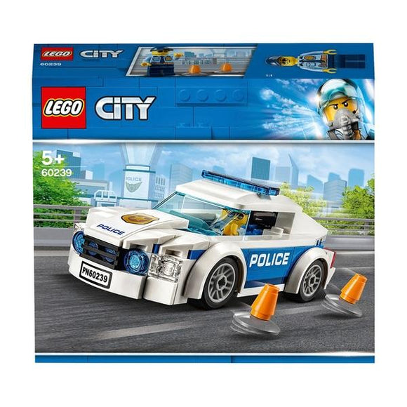 Lego 60239 City Police Patrol Car - McGreevy's Toys Direct
