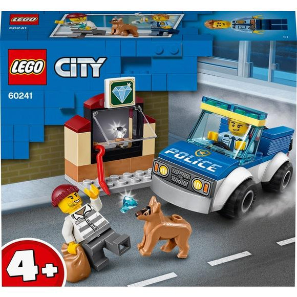 Lego 60241 4+ City Police Dog Unit - McGreevy's Toys Direct