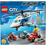 LEGO 60243 City Police Helicopter Chase - McGreevy's Toys Direct