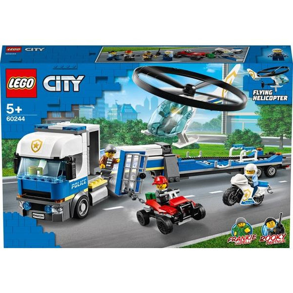 Lego 60244 City Police Helicopter Transporter - McGreevy's Toys Direct