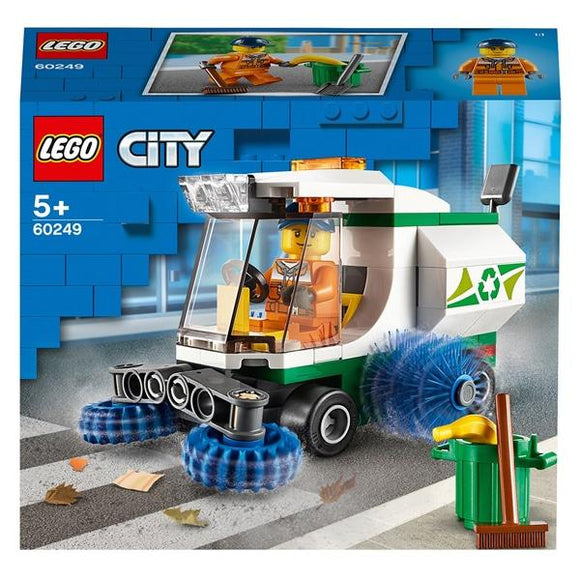 LEGO 60249 City Great Vehicles Street Sweeper - McGreevy's Toys Direct