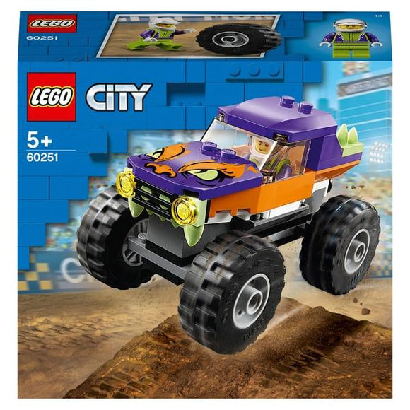 Lego 60251 City Monster Truck - McGreevy's Toys Direct