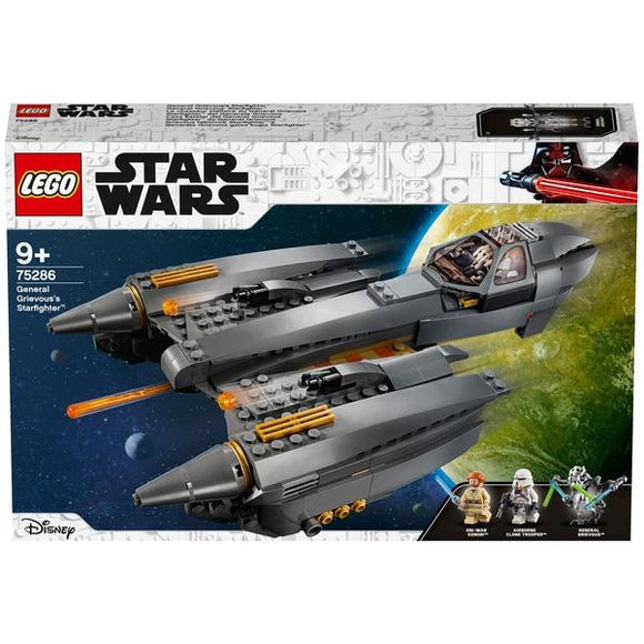 LEGO 75286 Star Wars General Grievous' Starfighter - McGreevy's Toys Direct