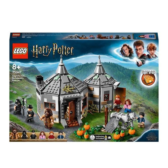 LEGO 75947 Harry Potter Hagrid's Hut: Buckbeak's Rescue - McGreevy's Toys Direct